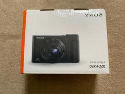 NEW Sony Cyber-shot DSC-HX80 18.2 MP Digital Camera BLACK