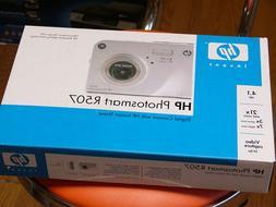 NEW HP PhotoSmart R507 4.1 MP Digital Camera with PENTAX LEN