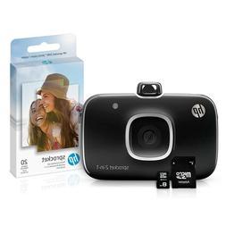 NEW HP Sprocket Digital Camera & Printer Bundle 8G microSD Z
