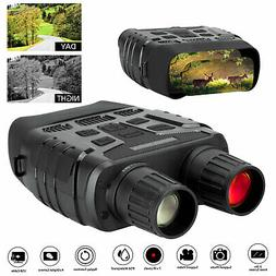 Night Vision Binoculars HD 4X Digital Zoom Infrared Hunting