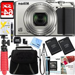 Nikon A900 20MP Longest Slim Zoom COOLPIX WiFi Digital Camer