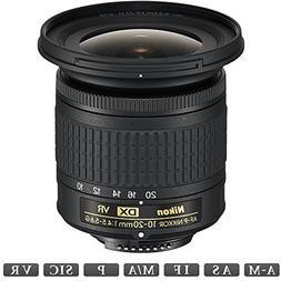 Nikon AF-P DX NIKKOR 10-20mm f/4.5-5.6G VR Lens  -
