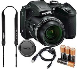 Nikon COOLPIX B500 16MP 40x Optical Zoom Digital Camera Bund