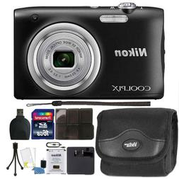 Nikon COOLPIX A100 20.1MP 5X Optical Zoom Digital Camera Acc