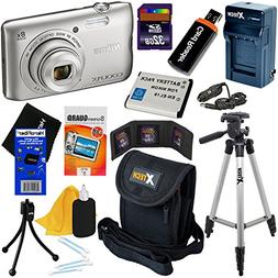 HeroFiber Nikon COOLPIX A300 20.1MP Digital Camera with 8x Z