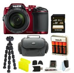Nikon COOLPIX B500 Digital Camera  with Gadget Bag & Focus A