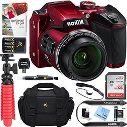Nikon COOLPIX B500 16MP 40x Optical Zoom Digital Camera w/Bu