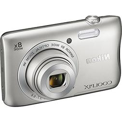 Nikon COOLPIX S3700 20.1 MP Wi-Fi Digital Camera with 8X Opt