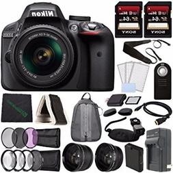 Nikon D3300 DSLR Camera with 18-55mm Lens  + Battery + Charg
