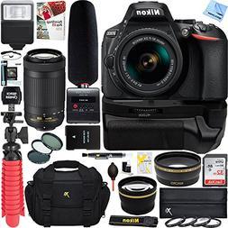 Nikon D5600 Digital SLR Camera + 18-55mm & 70-300mm Dual Len