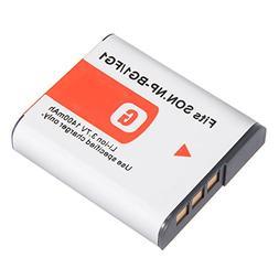 uxcell 3.7V 1400mAh NP-BG1/FG1 Li-ion Battery Pack for Digit