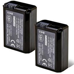 BM Premium 2 Pack of NP-FW50 Batteries for Sony DSC-RX10 IV,