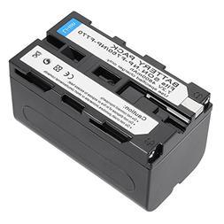 uxcell 7.2V 4800mAh NP-F770/F750/F730 Li-ion Battery Pack fo