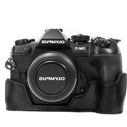 MegaGear Olympus OM-D E-M1 Mark II Ever Ready Leather Camera
