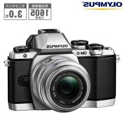 Olympus OM-D E-M10 Compact System Camera with 14-42mm 2RK le