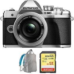 Olympus OM-D E-M10 Mark III Mirrorless Digital Camera with 1