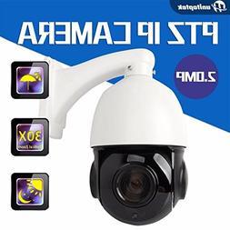 30X OPTICAL ZOOM 2MP 1/2.8 SONY CMOS 1080P Outdoor IP PTZ SP