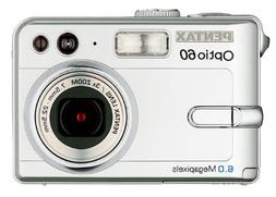 Pentax Optio 60 6MP Digital Camera with 3x Optical Zoom