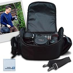 Large Digital Camera/Video Padded Carrying Bag/Case for Niko