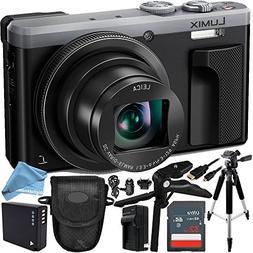 Panasonic Lumix DMC-ZS60 Digital Camera  16GB Bundle 10PC Ac