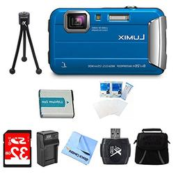 Panasonic LUMIX DMC-TS30 Active Tough Blue Digital Camera 32