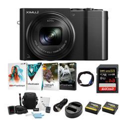 Panasonic Lumix DMC-ZS100 Digital Camera w/ Li-ion Battery &