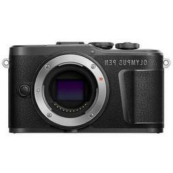 Olympus PEN E-PL10 Mirrorless Digital Camera Body, Black #V2