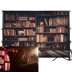Allenjoy 7x5ft Photography backdrops Book shelf in Library g