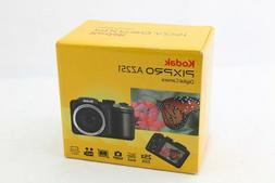 Kodak PIXPRO AZ251 16.4MP Digital Camera - Black - NEW + 8GB