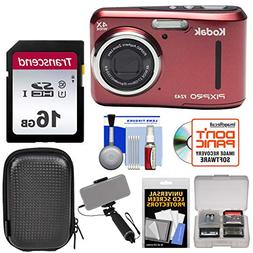 KODAK PIXPRO Friendly Zoom FZ43 Digital Camera  with 16GB Ca