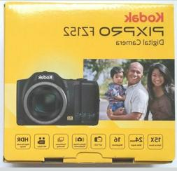 Kodak PIXPRO FZ152 CCD Compact Digital Camera - Black New in