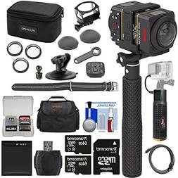 KODAK PIXPRO SP360 4K HD Wi-Fi Video Action Camera Camcorder
