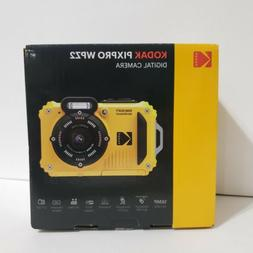 pixpro wpz2 underwater digital camera yellow new