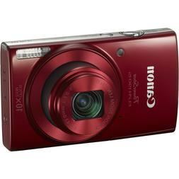 Canon PowerShot 190 IS 20 Megapixel Compact Camera - Red - 2