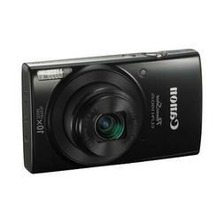 Canon PowerShot ELPH 190 Digital Point  Shoot Camera, Black
