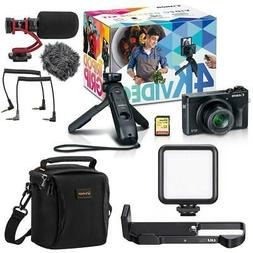 Canon PowerShot G7 X Mark III Video Creator Kit - With Mic A