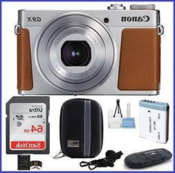 Canon PowerShot G9 X Mark II Digital Camera  PRO Bundle incl