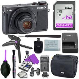 Canon Powershot G9 X Mark II Point & Shoot Digital Camera Bu