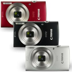 Canon PowerShot IXUS 185 /  Elph 180 20MP  Digital Camera Bl