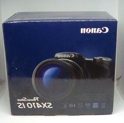 Canon PowerShot SX410 IS Digital Camera Black New