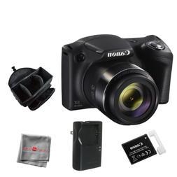 PowerShot SX420 IS 20 Megapixel Compact Camera - Black