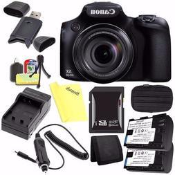 Canon PowerShot SX60 HS Digital Camera 9543B001 + Battery +