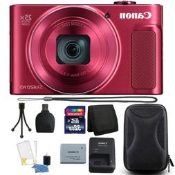 Canon PowerShot SX620 HS 20.2MP 25X Zoom Red Digital Camera