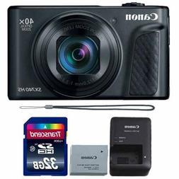 Canon PowerShot SX740 HS 20.3MP Digital Camera Black with 32