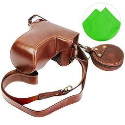 First2savvv full body Precise Fit PU leather digital camera