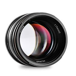 Kamlan 50mm/F1.1 Standard Prime Lens with X Mount for All Fu