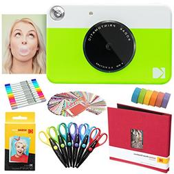 Kodak Printomatic Instant Camera  Art Bundle + Zink Paper  +