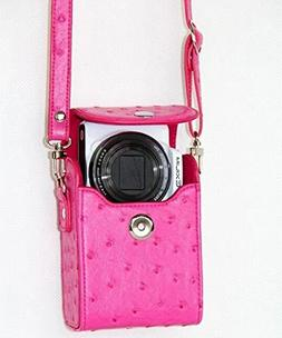 PU Leather Cover Bag for Nikon COOLPIX L28, S31, S32, S33, S