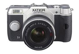 Pentax Q10 12.4MP with 02 zoom lens kit Silver
