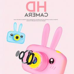 Rechargeable Children Digital Cameras with Rabbit Cover Came